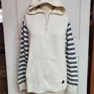 Volcom cromly sweater with hoodie